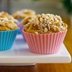 Sugar Free Peach Muffins