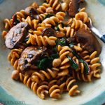 Pasta with Chard and Chickpeas