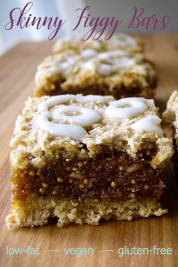 hese vegan fig bars are like the classic fig cookies--a sweet filling sandwiched between layers of flaky crust--with one big difference: they are fat-free.