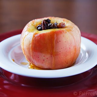 Microwave Baked Apples Two Ways