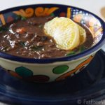 Tropical Black Bean and Collard Green Soup