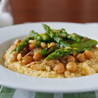 Pressure cooker archives fatfree vegan kitchen for Creamy polenta with mushrooms and collards