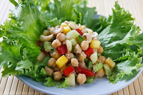 Thai-Inspired Chickpea Salad