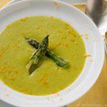 Roasted Asparagus Soup