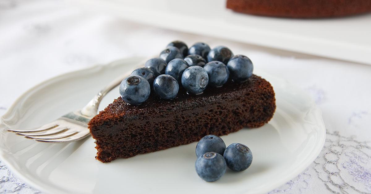 Chocolate Blueberry Cake Recipe From Fatfree Vegan Kitchen