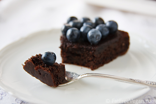 Chocolate-Blueberry Cake
