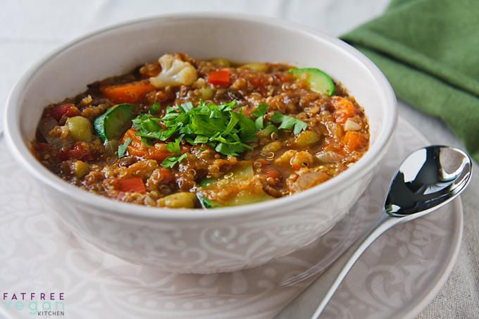 Ridiculously Easy Lentil Stew