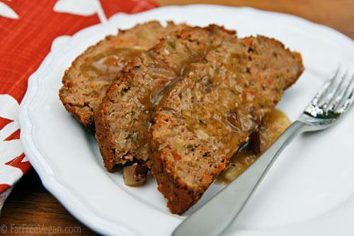 Thanksgiving Meatless Loaf