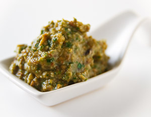 Roasted Eggplant Pesto