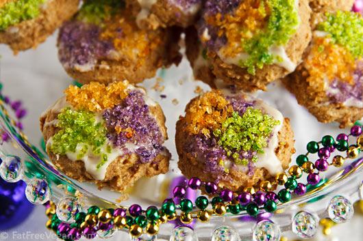 Gluten-Free King Cake Cookies
