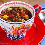 Black Bean-Pineapple Soup Stew Chili