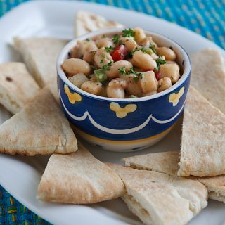 White Bean Salad with Za'atar