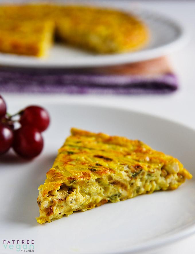 Vegan Zucchini Frittata