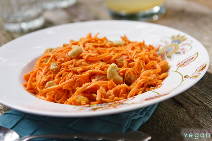 Carrot-Cashew Salad