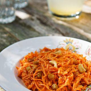 Cashew Carrot Salad
