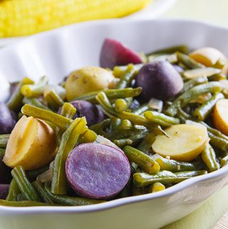 Homestyle Green Beans and Potatoes