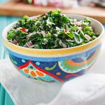 Kale Mallung (Sri Lankan Kale with Coconut)