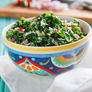 Kale Mallung (Sri Lankan Kale and Coconut)