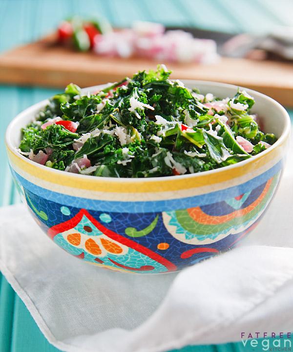 Kale Mallung (Sri Lankan Kale and Coconut)