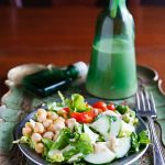 Low-Fat Tahini-Chickpea Dressing