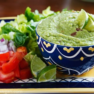 Bryanna's Low-Fat Veggie Guacamole
