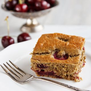Cherry Snack Cake and a Non-Recap of Vida Vegan Con