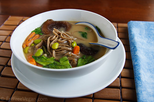 Hearty One Pot Meal Miso Soup Recipe From Fatfree Vegan Kitchen