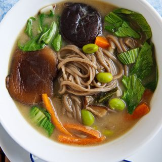 Hearty One-Pot Miso Soup