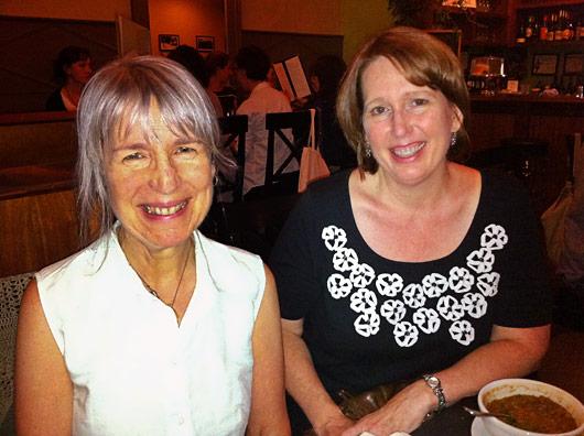 Maria and me at Blossoming Lotus