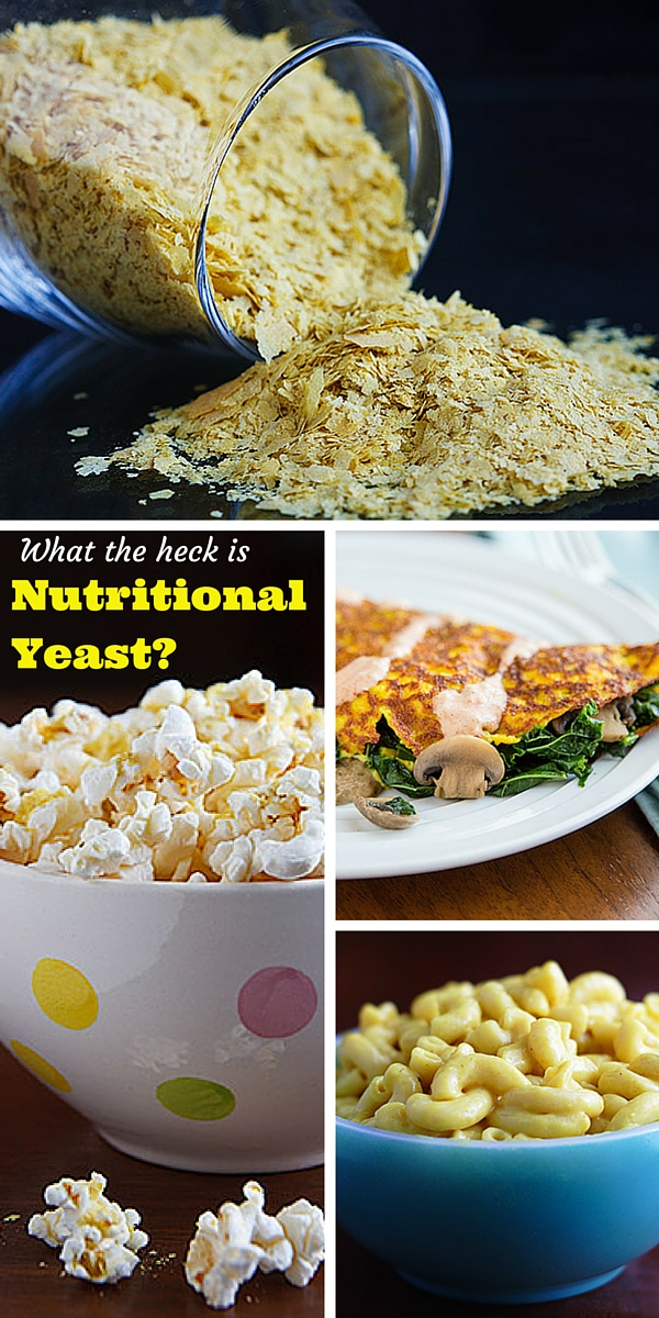 What the heck is Nutritional Yeast? Everything you always wanted to know about nutritional yeast--what it is, what it's used for, and where to find it--along with links to specific vegan recipes.