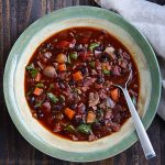 Eat the Rainbow Black Bean Soup
