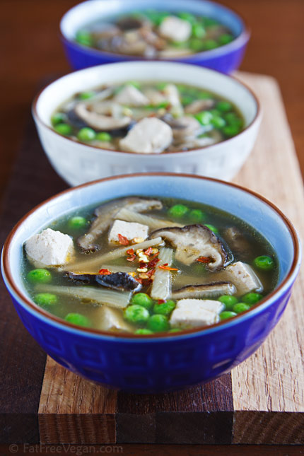 Slow Cooker Hot and Sour Soup
