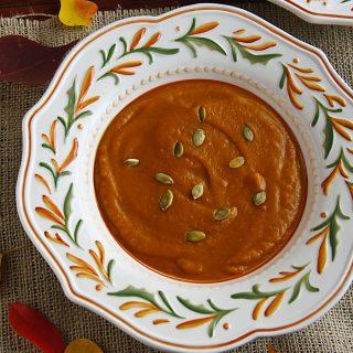 Ethiopian-Spiced Pumpkin Bisque