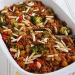 Creamy Vegan Broccoli and Rice Casserole