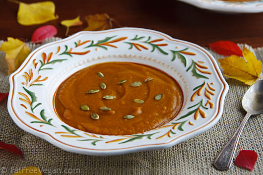 Ethiopian-Spiced Pumpkin Soup