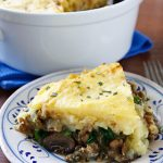 Nava's Hearty Lentil and Mushroom Shepherd's Pie