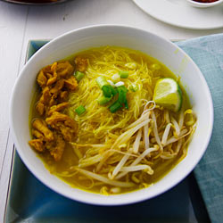Javanese Inspired Chicken Soup Vegan Soto Ayam Recipe From