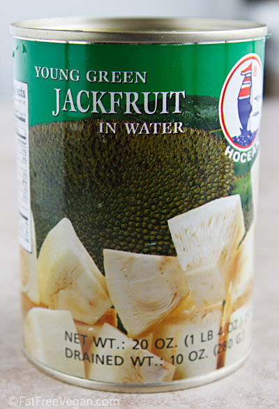 Young Green Jackfruit