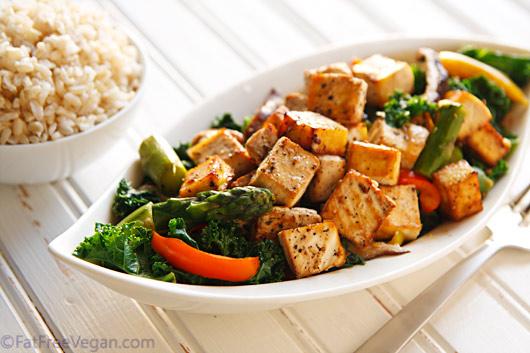 Thai black pepper and garlic tofu recipe from fatfree vegan kitchen forumfinder Gallery