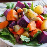 Nava's Three-Potato Salad with Arugula