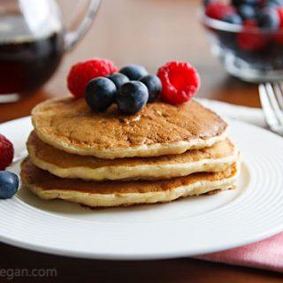 The McDougalls' Fluffy Pancakes