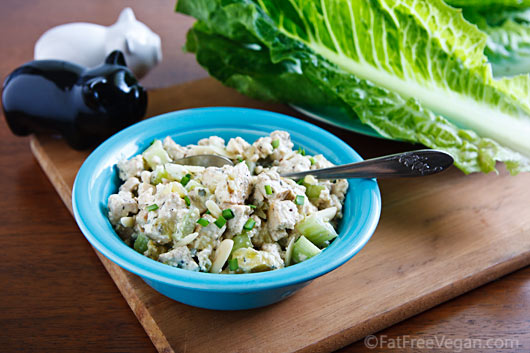 Old Fashioned Vegan Chicken Salad