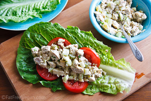 Old Fashioned Vegan Chicken Salad