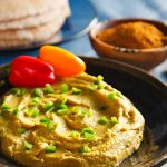Berbere-Spiced Red Lentil Hummus
