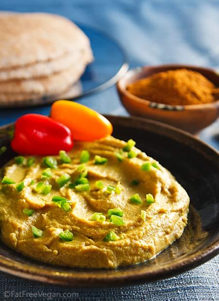 Berbere-Spiced Red Lentil Hummus
