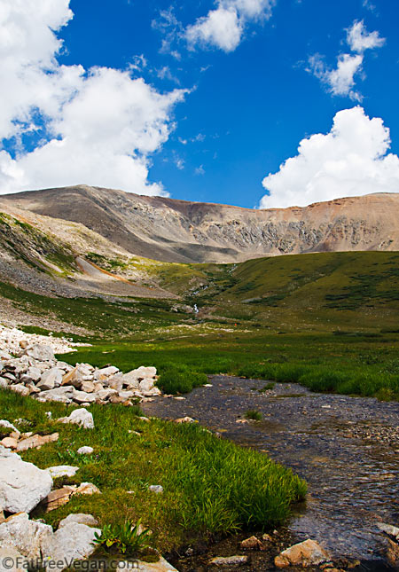Kite Lake, Colorado--look for the orange dot!