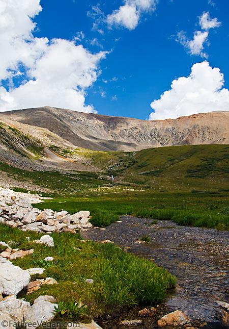 Kite Lake, Colorado--look for the orange dot!