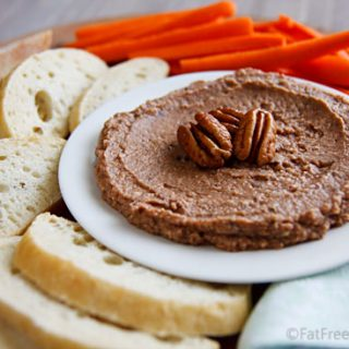 Blackeyed Pea and Pecan Hummus
