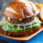 Savory Lentil-Mushroom Burgers