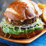 Savory Lentil-Mushroom Burgers